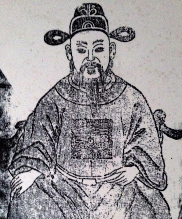 吳氏入閔祖先的畫像