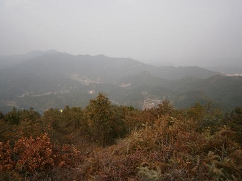 三南的崇山峻嶺,山路崎嶇。