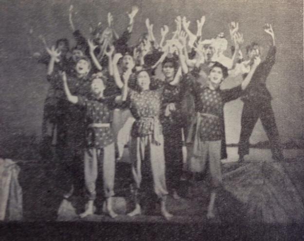 中藝在南陽演出歌舞劇