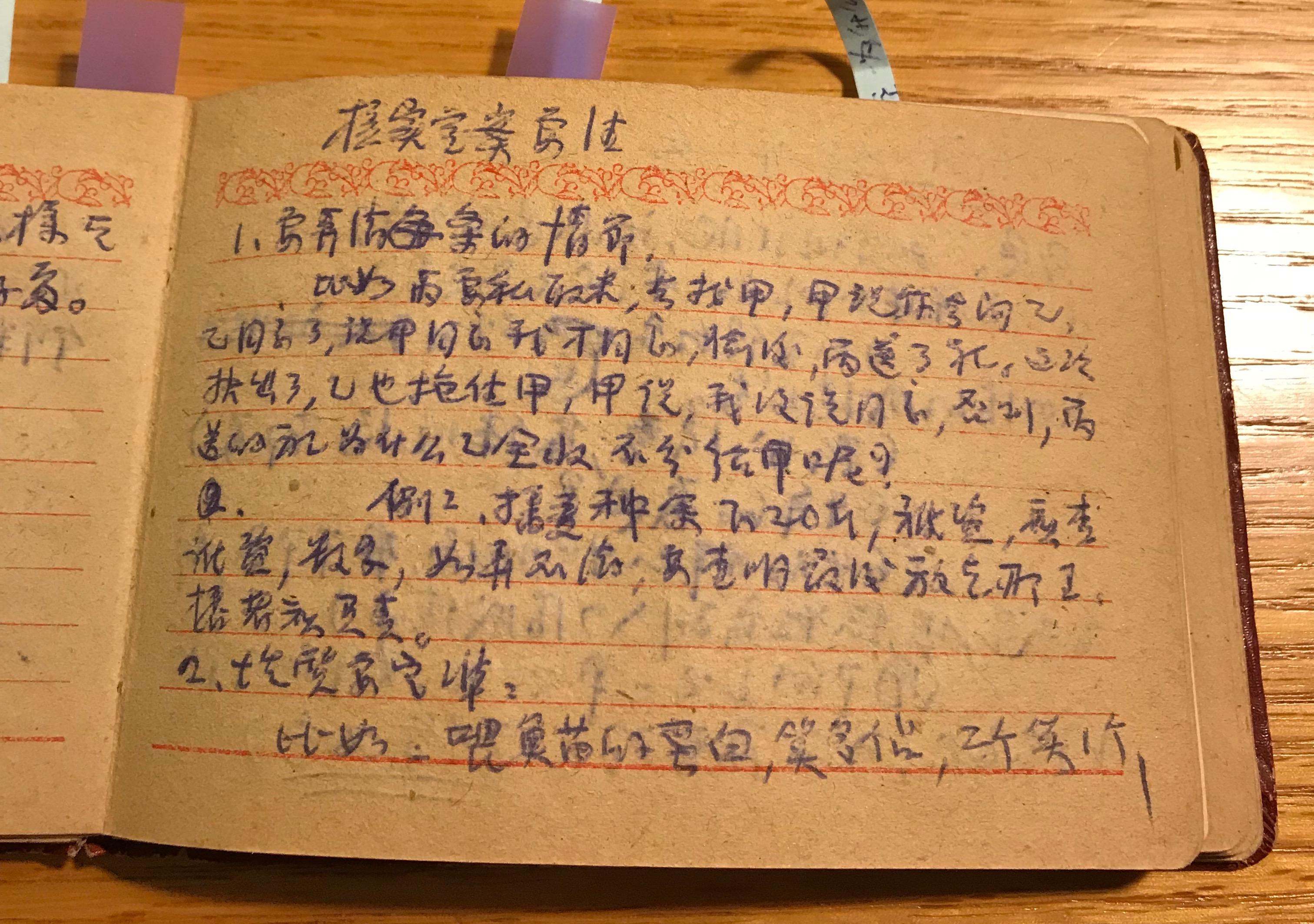 一頁四清工作日記:核實每一條